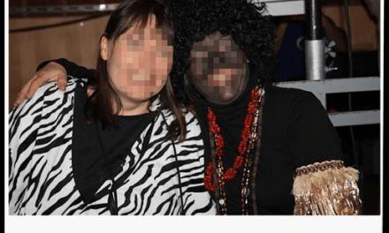 """Weiße malen sich Gesichter schwarz: """"So sehen echte Afrikaner aus"""""""