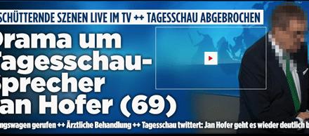 """Bild"" führt Jan Hofer vor"