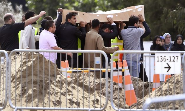 A Father and Son Were the First to Be Buried After the New Zealand Mosque Shootings