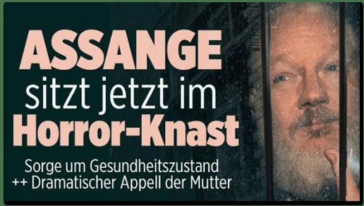 Bild.de schickt Julian Assange in den falschen Knast