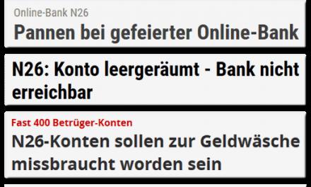 Die Bank, die einen füttert, beißt man nicht
