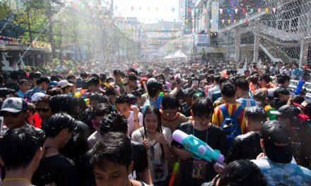 Thai Authorities Continue Their Cleanup of the Country's Famous 'Water Splashing' Parties
