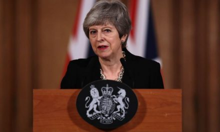 Theresa May Says Britain Will Seek Second Brexit Delay