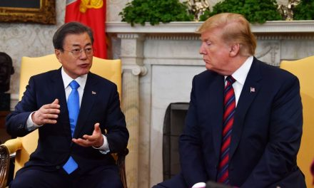 President Trump Says He Wants North Korea Sanctions to Remain After Meeting with Moon