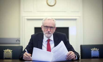 British Military Launches Investigation After Video Shows Soldiers Shooting Photo of Jeremy Corbyn