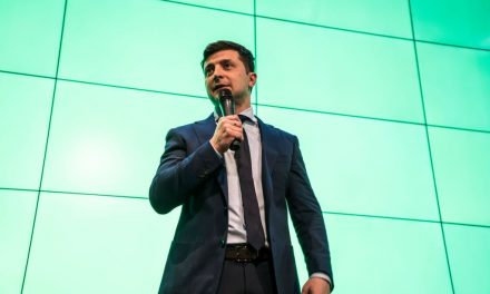 A Comedian is Leading the Presidential Election in Ukraine