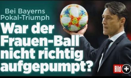 "Bild.de lässt mit riesigem ""Frauen-Ball"" im DFB-Pokal-Finale spielen"