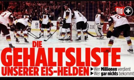 Bringt Julian Reichelt die Familien der Eishockeynationalspieler in Gefahr?