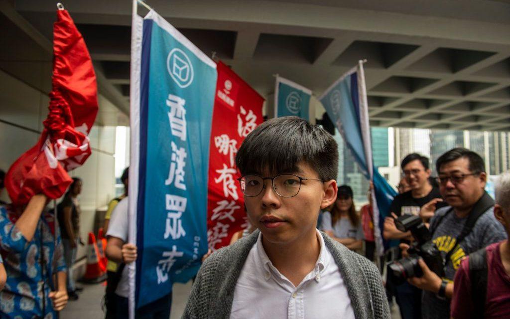 Hong Kong Activist Joshua Wong Sent Back to Prison After Losing Appeal