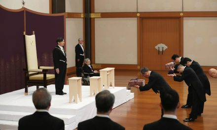 Swords, Seals and Jewels. Naruhito Inherits Regalia in His First Duty as Japan's New Emperor