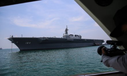 President Trump Visited Japan's Biggest Warship Since World World II. Here's What to Know About the JS Kaga
