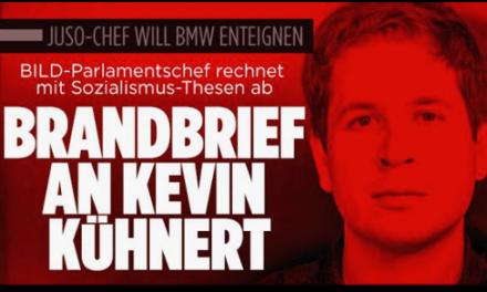 """""""Glücklicher Mann"""" schreibt an """"Universitäts-Lusche"""" Kevin Kühnert"""