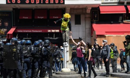 May Day Protesters and Police Clash in Paris