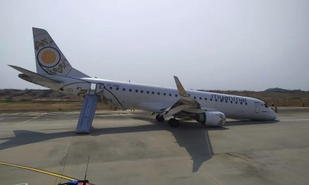 Relief After Passenger Jet With 89 People Aboard Lands Safely Using Only Its Rear Wheels