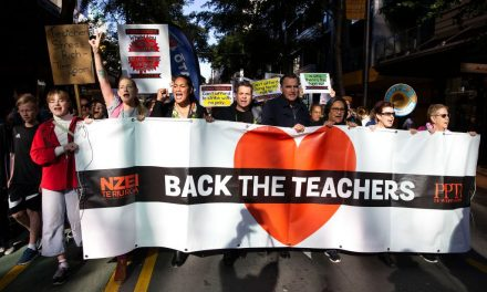 New Zealand Teachers Have Gone on a 'Mega-Strike' for Higher Pay