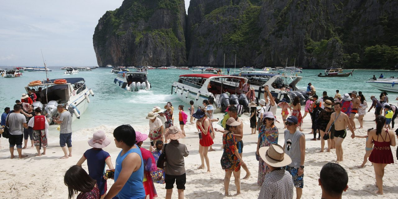 The Thai Beach Featured in the Movie 'The Beach' Will Be Closed Until 2021