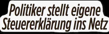 """""""Bild"""" senkt den Steuersatz drastisch falsch"""