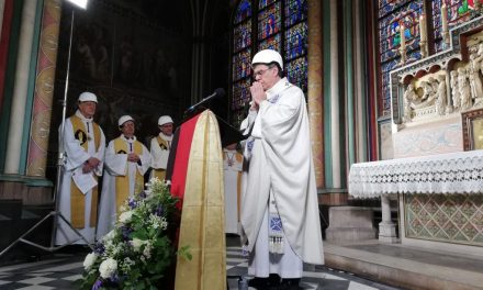 Notre Dame Celebrates First Mass Since Devastating April Fire
