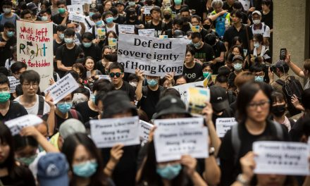 """""""Free Hong Kong from China!"""" Hong Kong Protesters Call for Foreign Backing in Their Struggle to Preserve the City's Freedoms"""