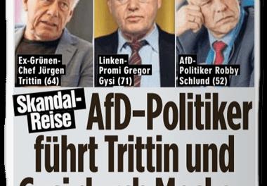 """""""Skandal-Reise"""": """"Bild""""-Reporter führt Leserschaft in die Irre"""