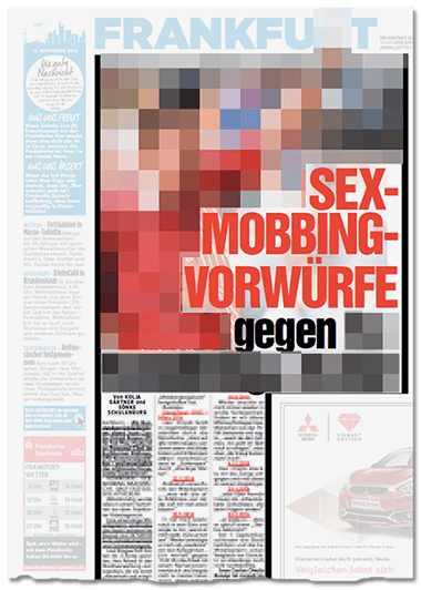 """""""Sex-Mobbing, Nazi-Sprüche, Sauf-Exzesse, Ekel-Attacken"""": Axel Springer muss 110.000 Euro zahlen"""