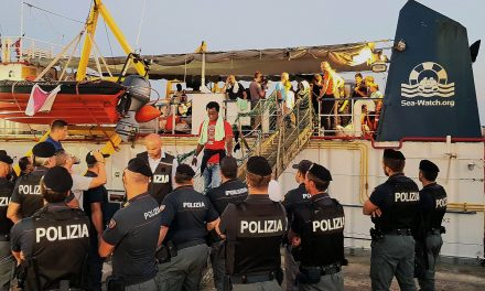 A Rescue Ship Captain Being Held in Italy Is Attracting Donors and Defenders