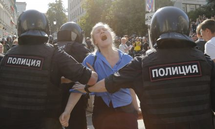 Nearly 1,400 People Detained at Violent Moscow Protest