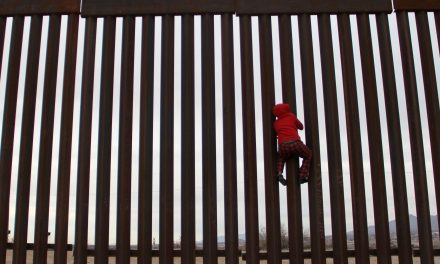 'Joy, Excitement, and Togetherness at the Border.' With Three Hot Pink See-Saws, These Architects Turned the U.S.-Mexico Border Wall Into a Playscape