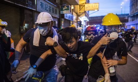 Beijing Denounces Hong Kong Protesters After Unrest Enters Its Ninth Week