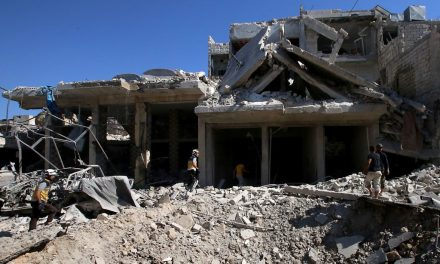 Activists Say at Least 16 Were Killed in an Airstrike in Northwest Syria