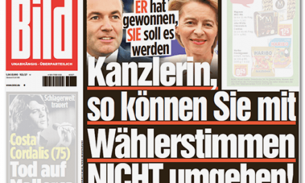 """Wahlkampf für von der Leyen: Vom """"Desaster"""" zu """"JA, JA, JA, URSULA!"""""""