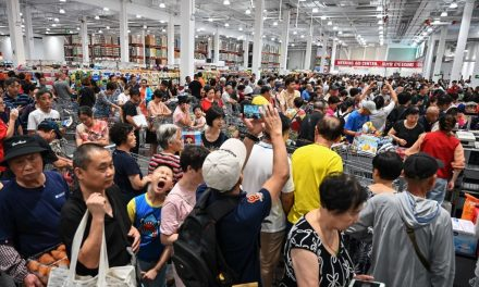 Amid Hour-Long Lines, Customers Fight Over Products as Costco Opens First Store in China
