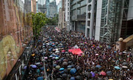 Tens of Thousands of Protesters Take to the Streets in Hong Kong in Defiance of a Police Ban