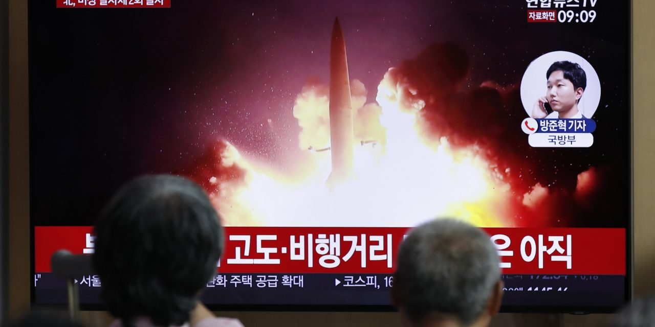 South Korea Says North Korea Fired More Projectiles Into the Sea