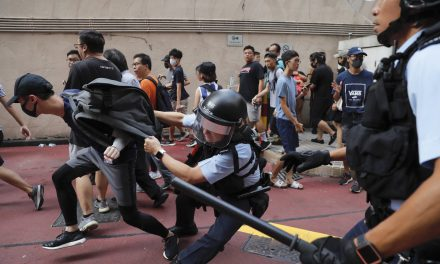 Conflict Breaks Out in Hong Kong Mall Amid Counter Protests