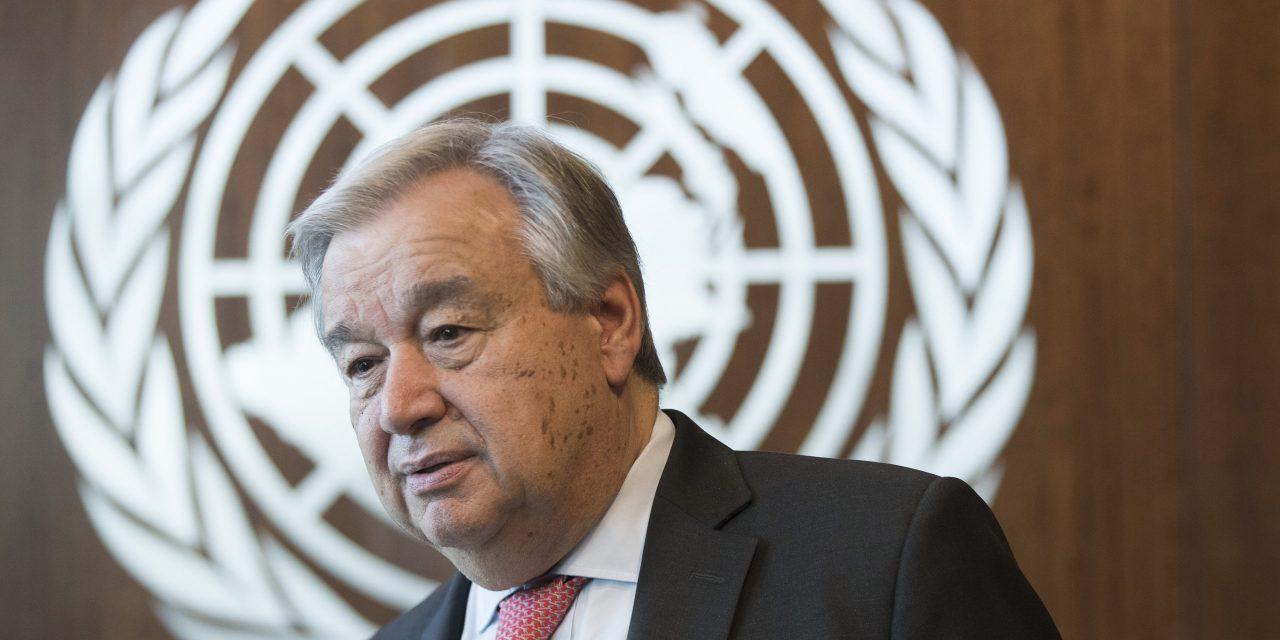 The U.N. Secretary-General Says He Has Taken a Forceful Stance on China's Treatment of Muslims