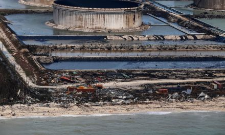 Hurricane Dorian Rips Roofs Off Bahamas Oil Storage Tanks, Causes 'Catastrophic' Spillage