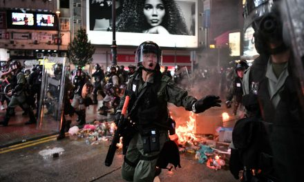 As Protests Rage, Hong Kong Police Storm Subway With Batons, Pepper Spray