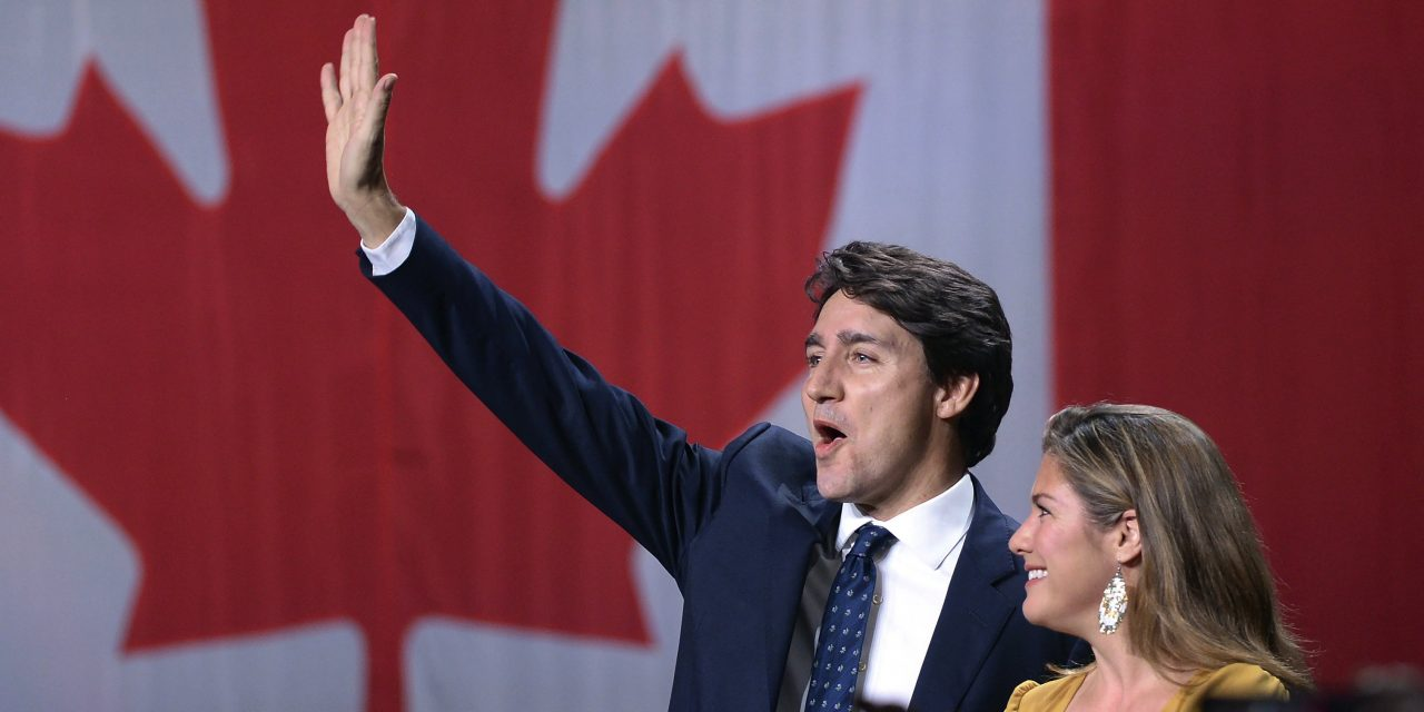 Canada's Trudeau Wins a Second Term But Loses His Majority