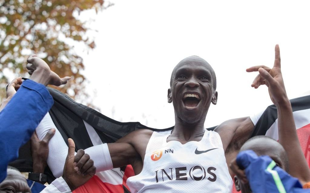 Eliud Kipchoge Becomes First Person in Recorded History to Run a Marathon in Under 2 Hours