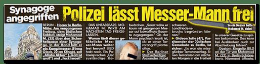 """Vom """"Messermann"""" zur Verschwörungstheorie"""
