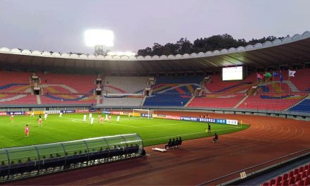 North Korea, South Korea Play Soccer World Cup Qualifier in Empty Pyongyang Stadium