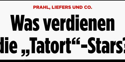 """Bringt Julian Reichelt die Familien der """"Tatort""""-Kommissare in Gefahr?"""