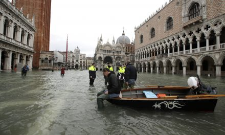 Venice Hit by Record Third Exceptional Tide