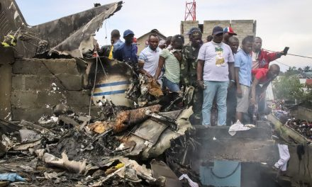 Plane Crashes Into Homes in Congo, Leaving at Least 25 People Dead