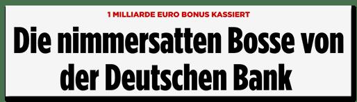 Boni trotz Job-Kahlschlag: Die Springer-Sauerei!
