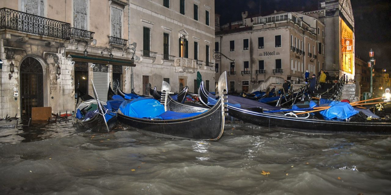 Flood-Ravaged Venice in a State of Emergency as Mayor Blames Climate Change for 'Dramatic Situation'