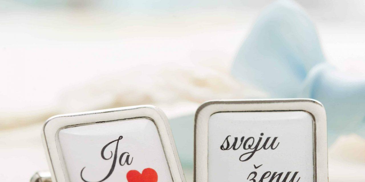 Originálne svadobné manžetové gombíky, alebo keď záleží na každom detaile