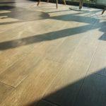 stále čistá podlaha
