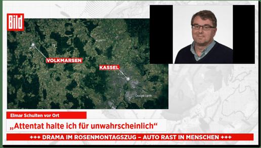 """Die Amokfahrt von Volkmarsen in den """"Bild""""-Medien"""